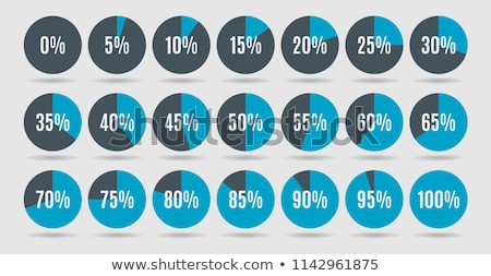 different percentages in color stock photo © marinini