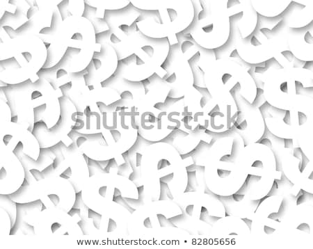 White dollar sign seamless background. Stock photo © Leonardi