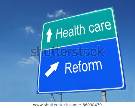 Health Care Highway Sign Stock photo © kbuntu