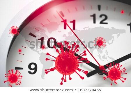 Foto stock: Tiempo · ayudar · reloj · palabras · blanco · seguridad