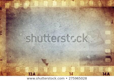 çerçeve hollywood Yıldız stilize Stok fotoğraf © sahua