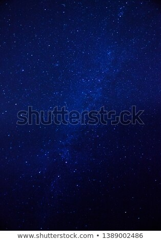 asteroid  on a blue background Stock photo © njaj