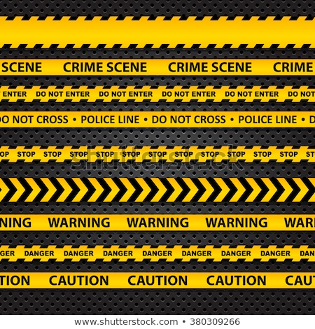 plastic caution tape  Stock photo © devon