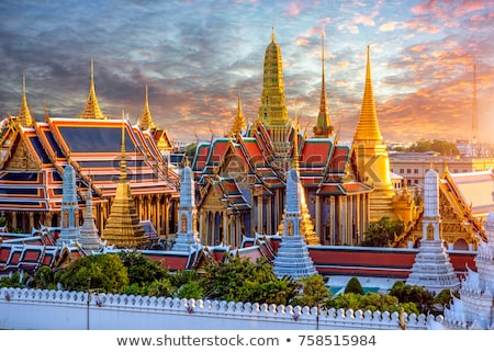 Thai Stupa in Grand Palace Stock photo © teusrenes