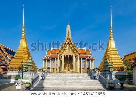 adorar · guardião · espírito · Tailândia · folha · verde - foto stock © teusrenes