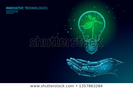 Bulb light with tree inside  Stock photo © Sarunyu_foto