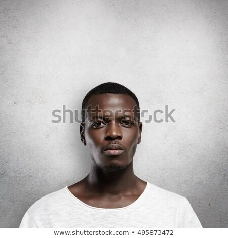человека Постоянный стены лице моде портрет Сток-фото © photography33