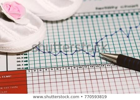 термометра плодородие диаграммы традиционный Сток-фото © simpson33