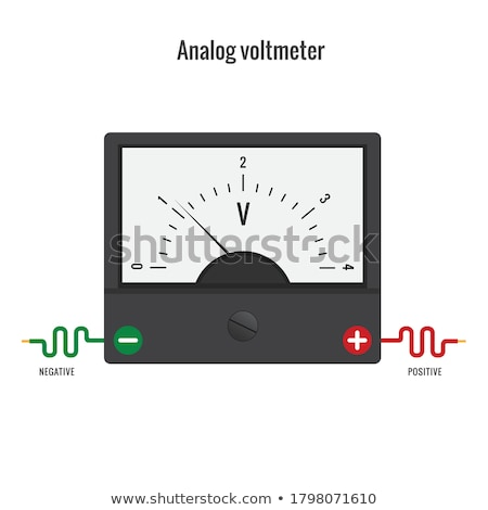 Voltmeter. Stock photo © photography33