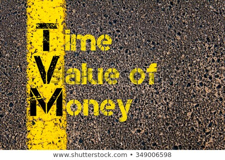 TVM acronym for time, value and money  Stock photo © bbbar