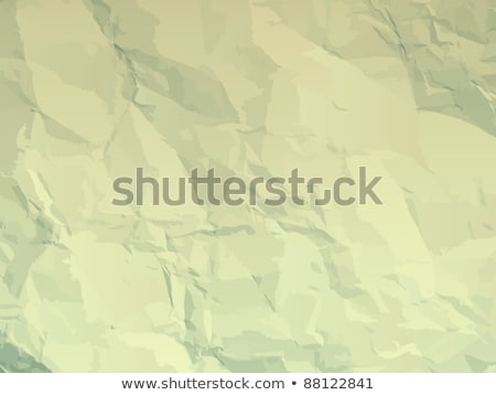 Fine textured old paper folds & stains. EPS 8 Stock photo © beholdereye