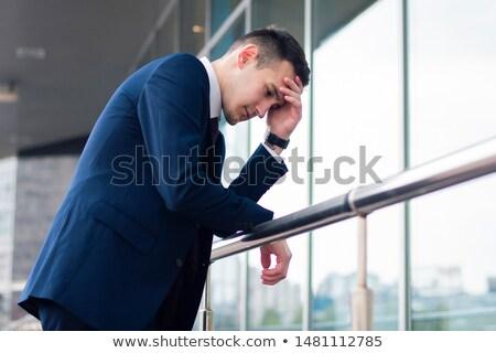 бизнесмен · служба · стороны · печально · Финансы · мужчины - Сток-фото © photography33