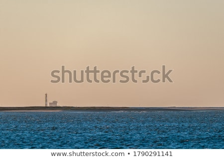 Lighthouse seen from the lagoon Stock photo © ajlber