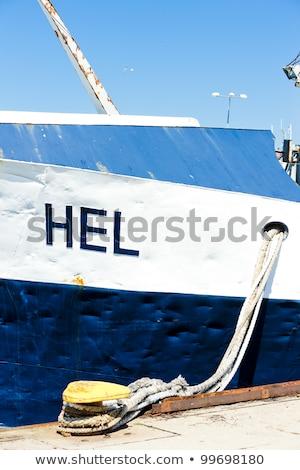 port · Pologne · mer · Voyage · navire · Europe - photo stock © phbcz
