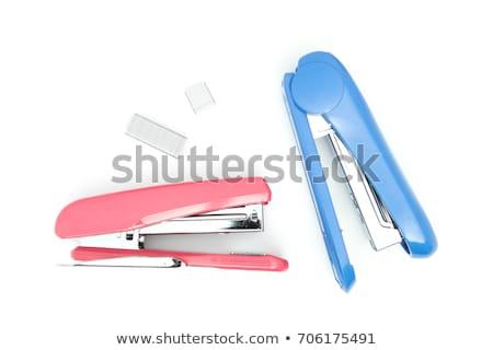 isolated stapler stock photo © m-studio