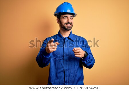 cool craftsman pointing at you Stock photo © photography33