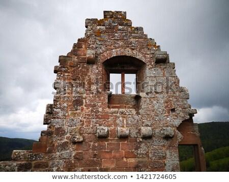 古代 · 城 · 空 · 家 · 建物 · 建設 - ストックフォト © prill