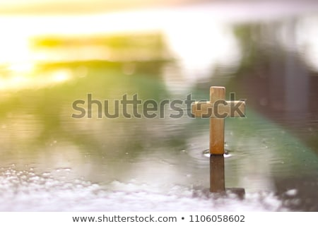 church in water stock photo © alenmax