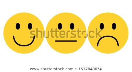 Smilies yellow stock photo © SVitekD