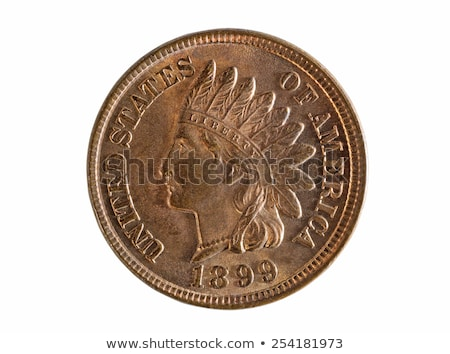 индийской голову деньги металл монетами Сток-фото © tab62