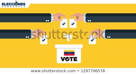 Ballot box Venezuela Stock photo © Ustofre9