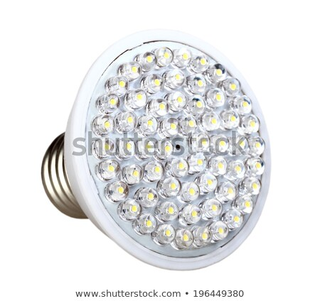 Cone energy-saving LED lamp Stock photo © boroda