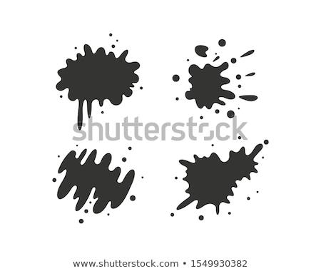 スプラッタ アイコン 画像 油 塗料 抽象的な ストックフォト © cteconsulting