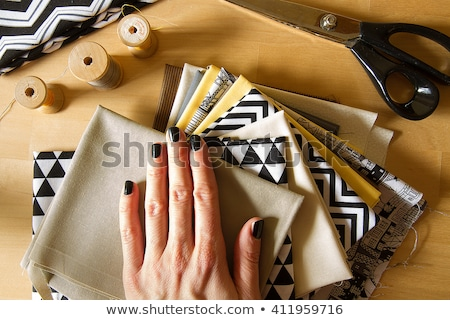 Sewing and Quilting Thread On White Stock photo © tobkatrina