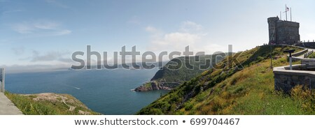 Signal Hill in the fog, Newfoundland. Stock photo © FER737NG