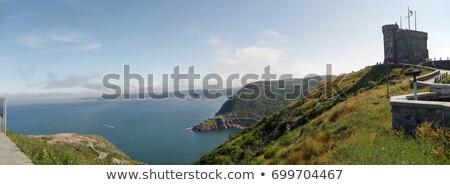 Sygnał Hill przeciwmgielne nowa fundlandia święty labrador Zdjęcia stock © FER737NG