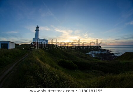 lighthouse in flamborough stock photo © capturelight