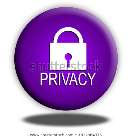 Privacy button Stock photo © REDPIXEL