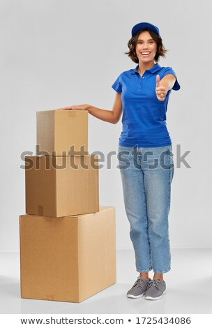 Boxes piled up Stock photo © zzve