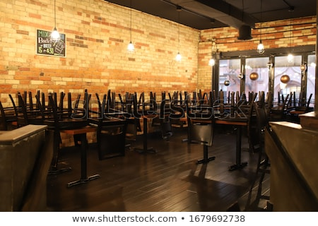 empty restaurant Stock photo © taden