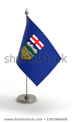 миниатюрный флаг изолированный заседание белый Сток-фото © bosphorus