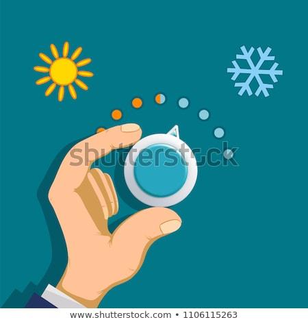 Sun in control Stock photo © Toltek