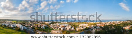 Panorâmico ver mudança efeito edifício cidade Foto stock © Kirill_M