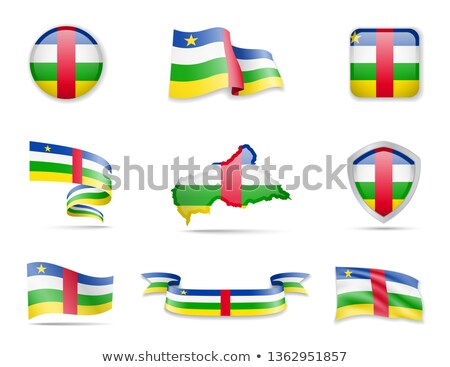 Button Central African Republic Stock photo © Ustofre9