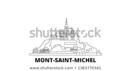katedrális · kő · tükröződés · távolság · medence · víz - stock fotó © smuki