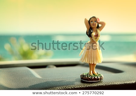 красивой · танцовщицы · женщину · цветок · девушки · Sexy - Сток-фото © keeweeboy