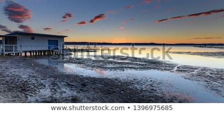 uzun · huzur · Avustralya · tek · başına · yalnızlık · ruh - stok fotoğraf © lovleah
