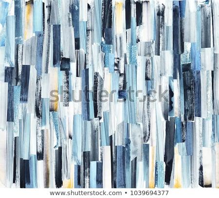 Grijs muur acryl verf patroon textuur Stockfoto © stocker