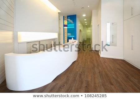 Сток-фото: Reception Area At Clinic
