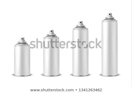 aeroszol · konzerv · közelkép · felső · mutat · spray - stock fotó © hyrons