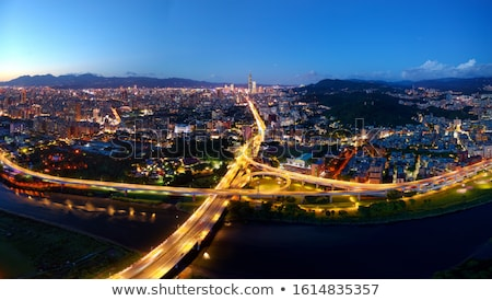 beautiful night scene in Taipei Stock photo © elwynn