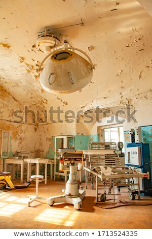 Operation in the old haunted hospital Stock photo © konradbak