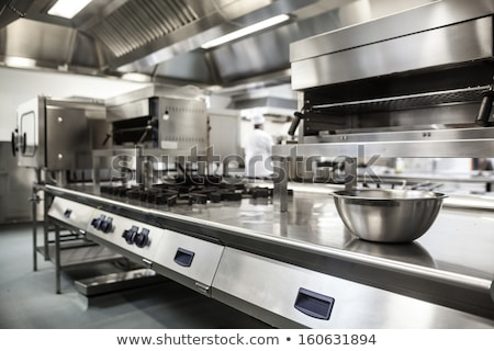 Commercial kitchen stock photo © gemenacom