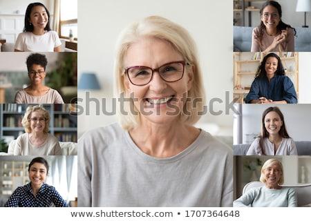 Asian modern lady  Stock photo © elwynn