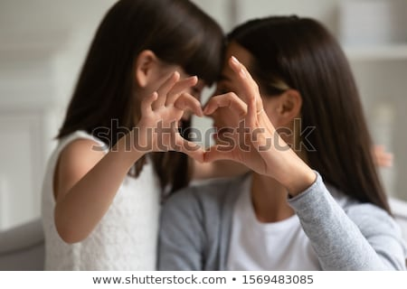 Stock photo: love touching