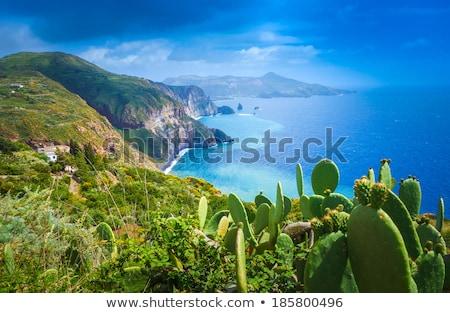острове Сицилия Италия пляж пейзаж Сток-фото © raferto
